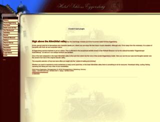 schloss-eggersberg.de screenshot