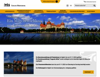 schloss-moritzburg.de screenshot