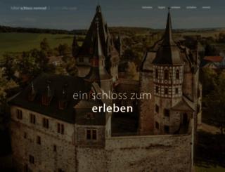 schloss-romrod.com screenshot