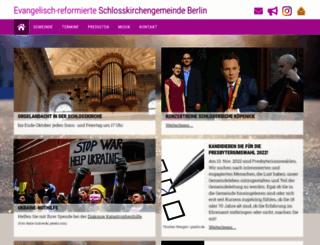 schlosskirche-koepenick.de screenshot