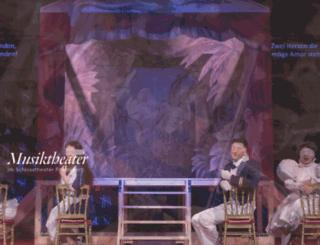 schlosstheater-rheinsberg.de screenshot