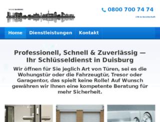 schluesseldienst-duisburg-nrw.de screenshot