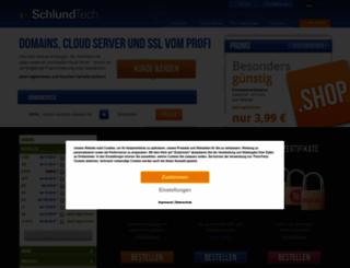 schlundtech.de screenshot