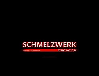 schmelzwerk.com screenshot