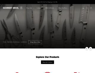 schmidtbrotherscutlery.com screenshot
