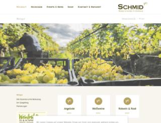schmidwein.at screenshot