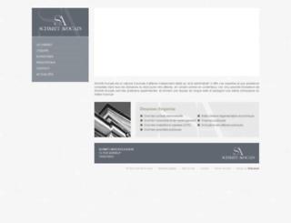 schmittavocats.com screenshot