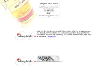 schnapshoeker.de screenshot
