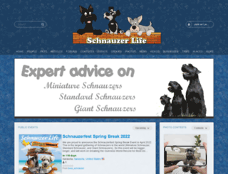 schnauzerlife.com screenshot