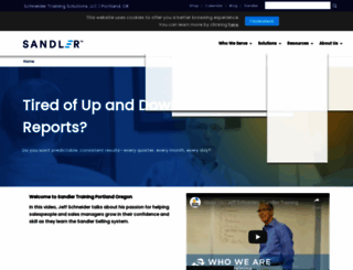 schneider.sandler.com screenshot