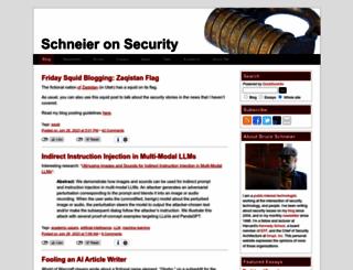 schneier.com screenshot