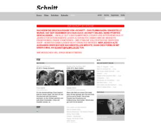 schnitt.com screenshot