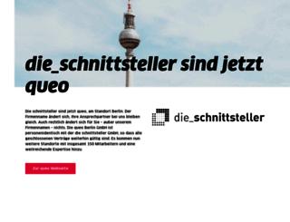 schnittsteller.de screenshot
