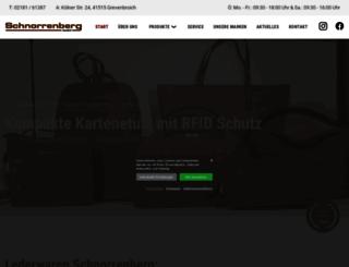 schnorrenberg-leder.de screenshot