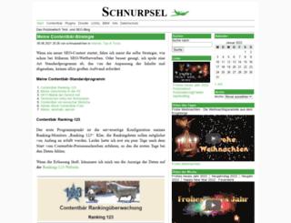 schnurpsel.de screenshot