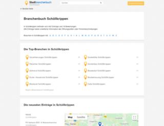 schoellkrippen.stadtbranchenbuch.com screenshot