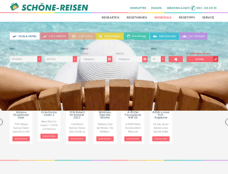schoene-reisen.de screenshot