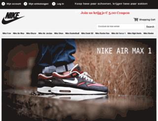 schoenenikesalenl.com screenshot