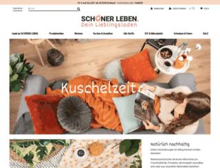 schoener-leben-shop.de screenshot