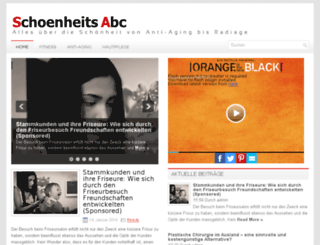 schoenheits-abc.ch screenshot