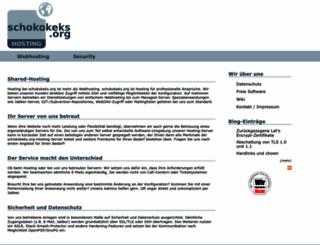 schokokeks.org screenshot