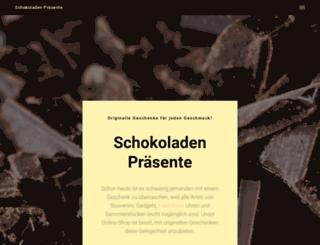 schokoladen-praesente.de screenshot