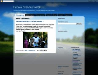 schola-zieloneswiatki.blogspot.com screenshot