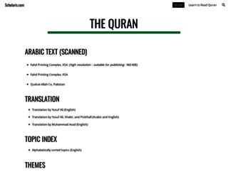 scholaris.com screenshot