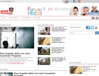scholarship.eduzones.com screenshot