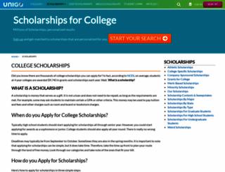 scholarshipexperts.com screenshot