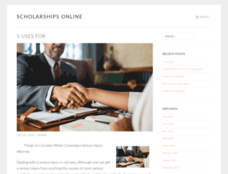 scholarships-online.info screenshot