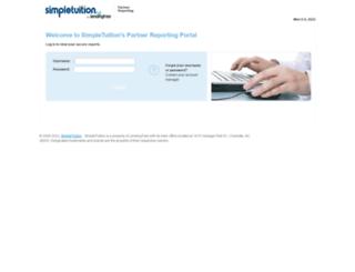 scholarships.simpletuition.com screenshot