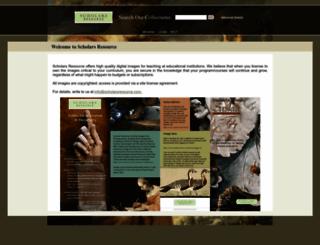 scholarsresource.com screenshot