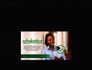 scholastica.ng screenshot