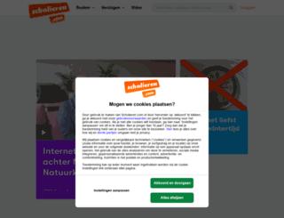 scholieren.nl screenshot