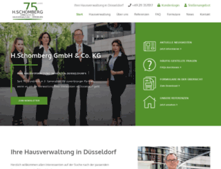 schomberg-immob.de screenshot
