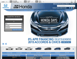 schomp-honda.calls.net screenshot