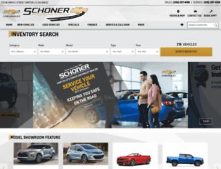 schonerchevrolet.com screenshot