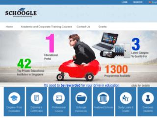 schoogle.com.sg screenshot