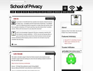 school-of-privacy.com screenshot