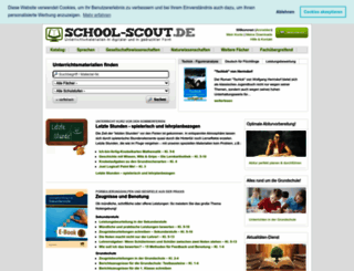school-scout.de screenshot