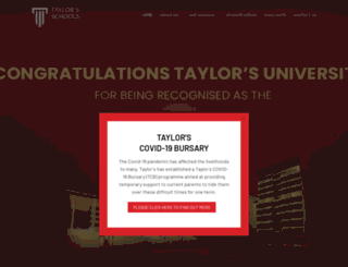 school.taylors.edu.my screenshot