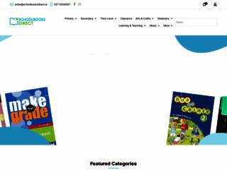 schoolbooksdirect.ie screenshot