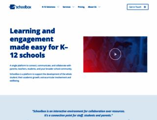 schoolbox.com.au screenshot