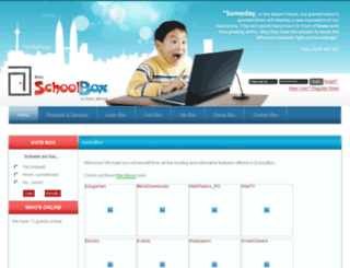 schoolbox.com.my screenshot