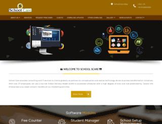 schoolcare.co.in screenshot