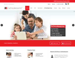 schoolessons.com screenshot