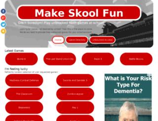 schoolgamesfree.com screenshot