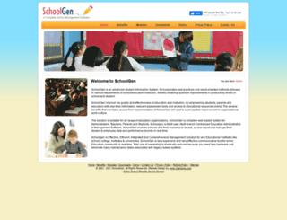 schoolgen.com screenshot