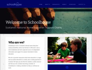 schoolhouse.org.uk screenshot
